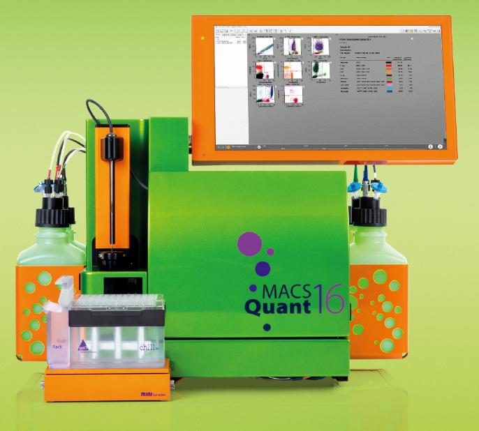 美天旎 MACSQuant®  Analyzer 16 高通量流式细胞仪