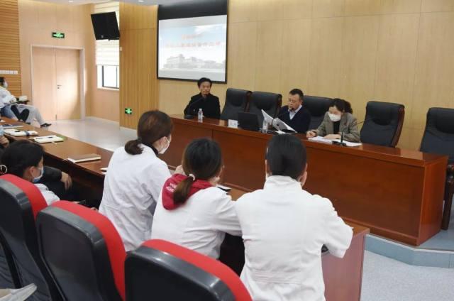 宝山区中西医结合医院来上海二康分享创建经验