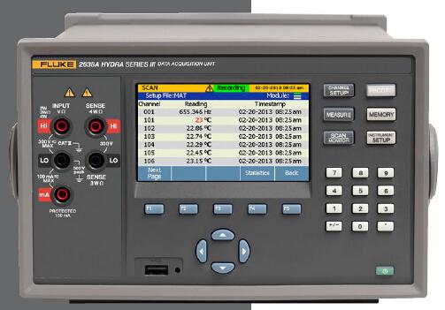 全能型温度数据采集系统