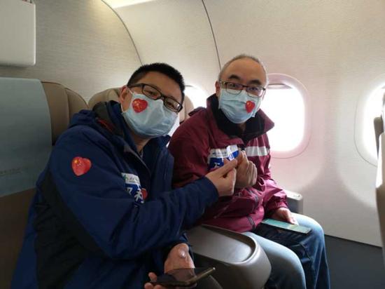 西安交大一附院支援武汉医疗队平安回家
