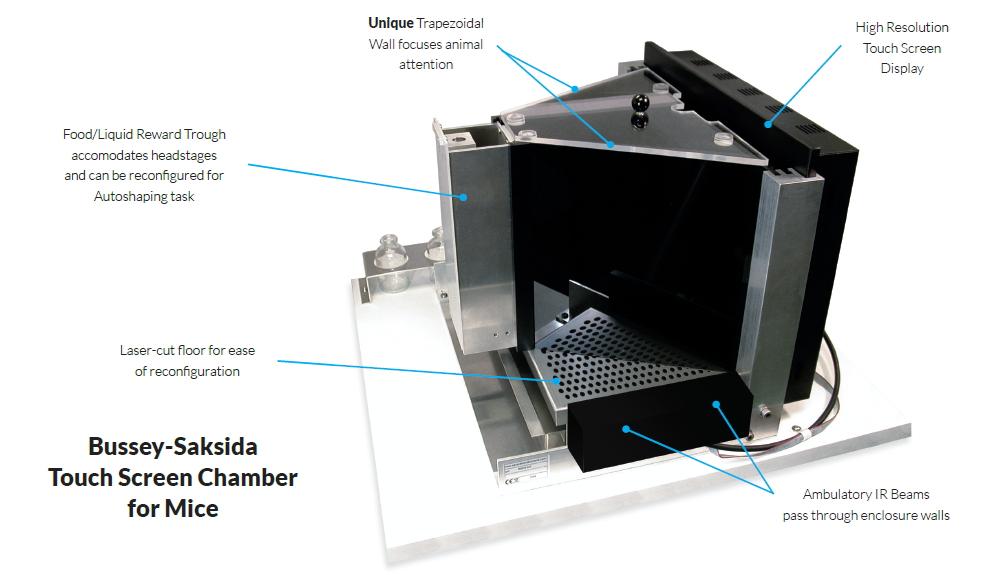 Campden 大小鼠触屏行为学分析系统