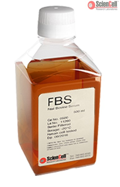 ScienCell胎牛血清FBS 0500
