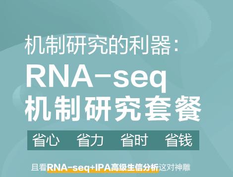 机制研究的利器:RNA-seq机制研究套餐