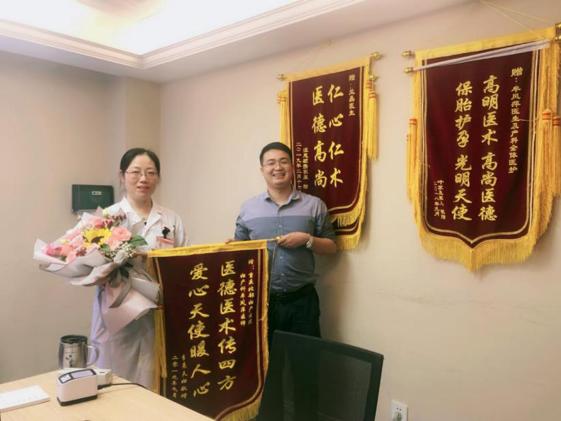 双胞胎妈妈在重庆北部妇产医院化险为夷,平安出院!