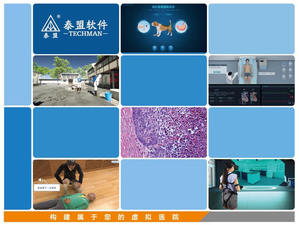 泰盟 VMC-100医学虚拟仿真实验教学系统