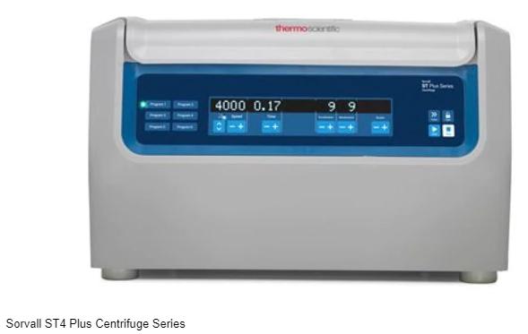 ThermoScientific™SorvallST4Plus通风型离心机和SorvallST4RPlus冷冻型离心机