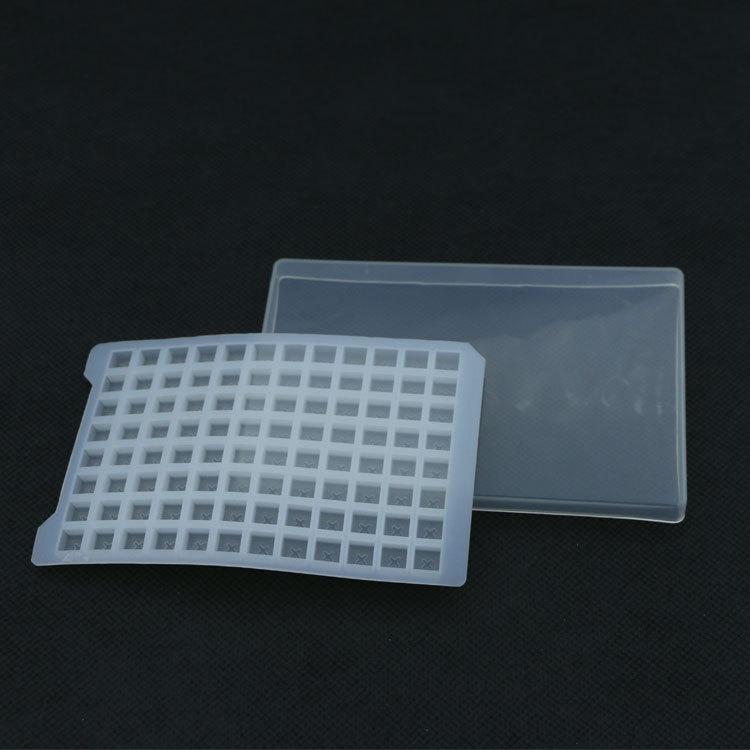 深圳厂家供应96孔板板硅胶盖 现货批发实验室耗材