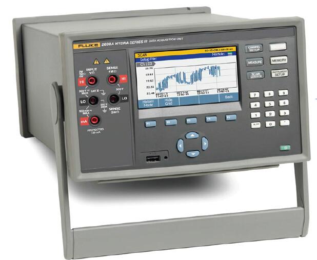 2638A全能型数据采集系统,温湿度巡检仪