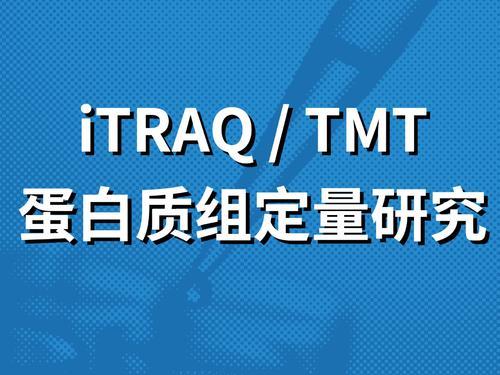 iTRAQ/TMT定量蛋白质组学分析