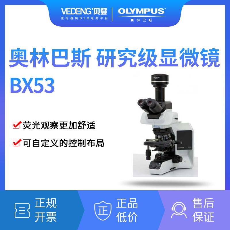 奥林巴斯研究级显微镜BX53