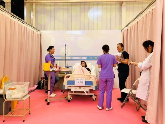 护士也要有「国际范」国际护理技能大赛白衣天使展风采