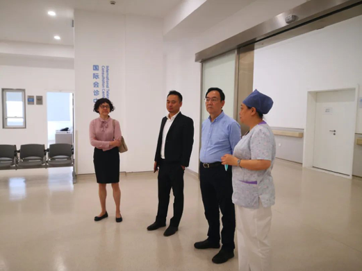 上海市社会医疗机构协会领导莅临阿特蒙调研