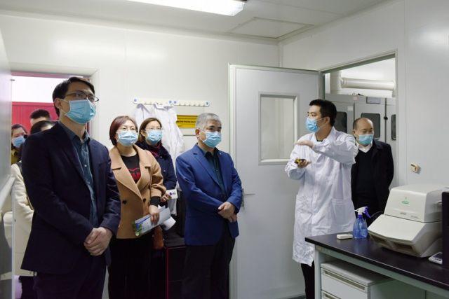 阜阳市妇女儿童医院一行赴阜阳师范大学考察交流