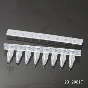 0.2ml薄壁PCR八联管,平盖/8联管PCR管