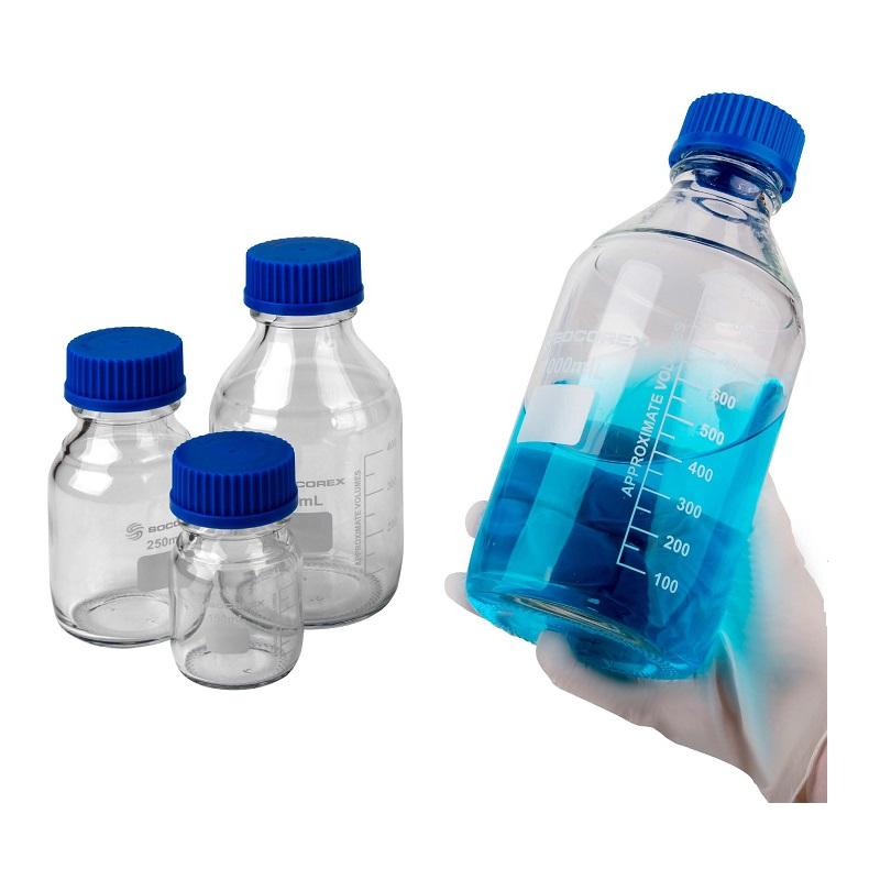 SOCOREX 蓝盖玻璃瓶