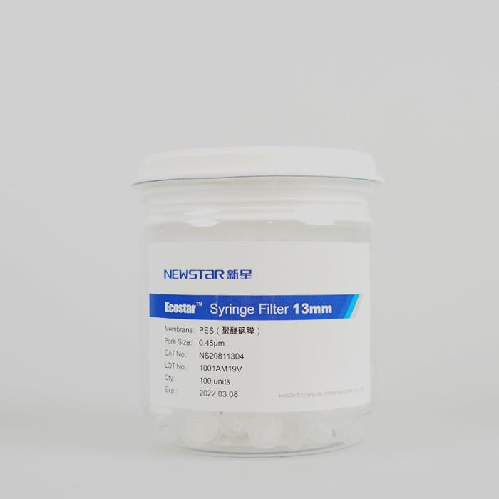 EcoStar™聚醚砜(PES)针头滤器--水系