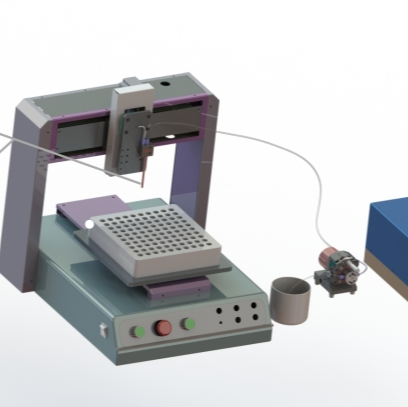 PCR管灌装分装泵、分装平台、FSH-AP微量灌装泵(可代替移液器、蠕动泵,实现持续精准点液、分装)