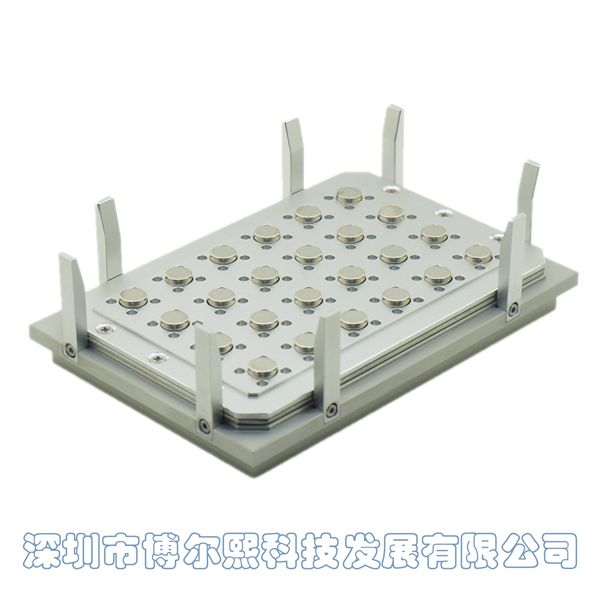 自动化仪器96孔板磁力架/磁架/磁分离器(铝合金通用型)
