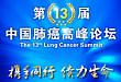 会议直播:第 13 届中国肺癌高峰论坛