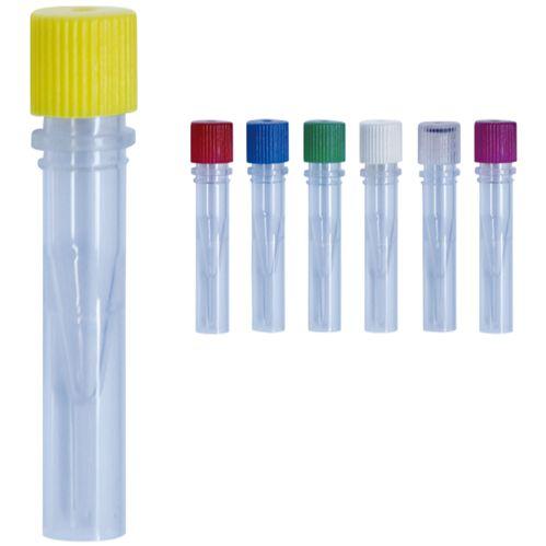保存管0.5ml/黄色盖/可立底/螺旋深盖/无DNA酶/无RNA酶/灭菌