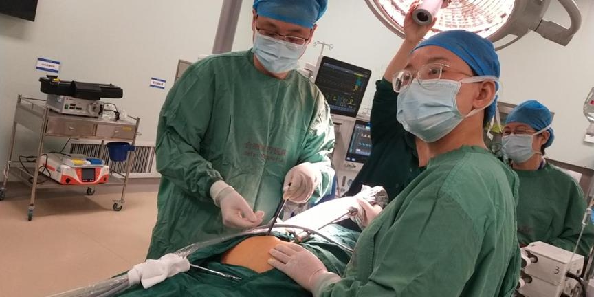合肥京东方医院成功完成首例腹膜透析腹腔镜法置管术