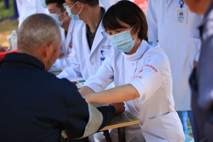 合肥京东方医院抗洪赈灾在一线 这些瞬间要珍藏