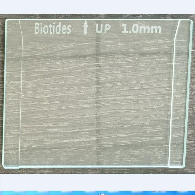 垂直电泳玻璃板1.0mm  可替换伯乐1653311