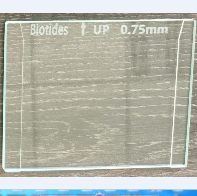 垂直电泳玻璃板0.75mm 可替换伯乐1653310