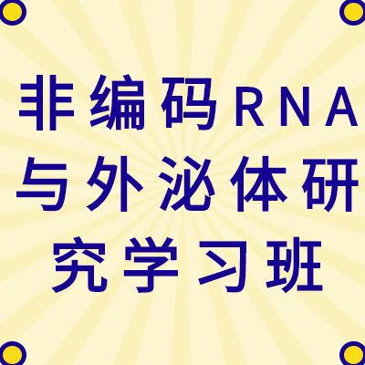 【医药加】非编码RNA与外泌体研究策略研讨会(网络)