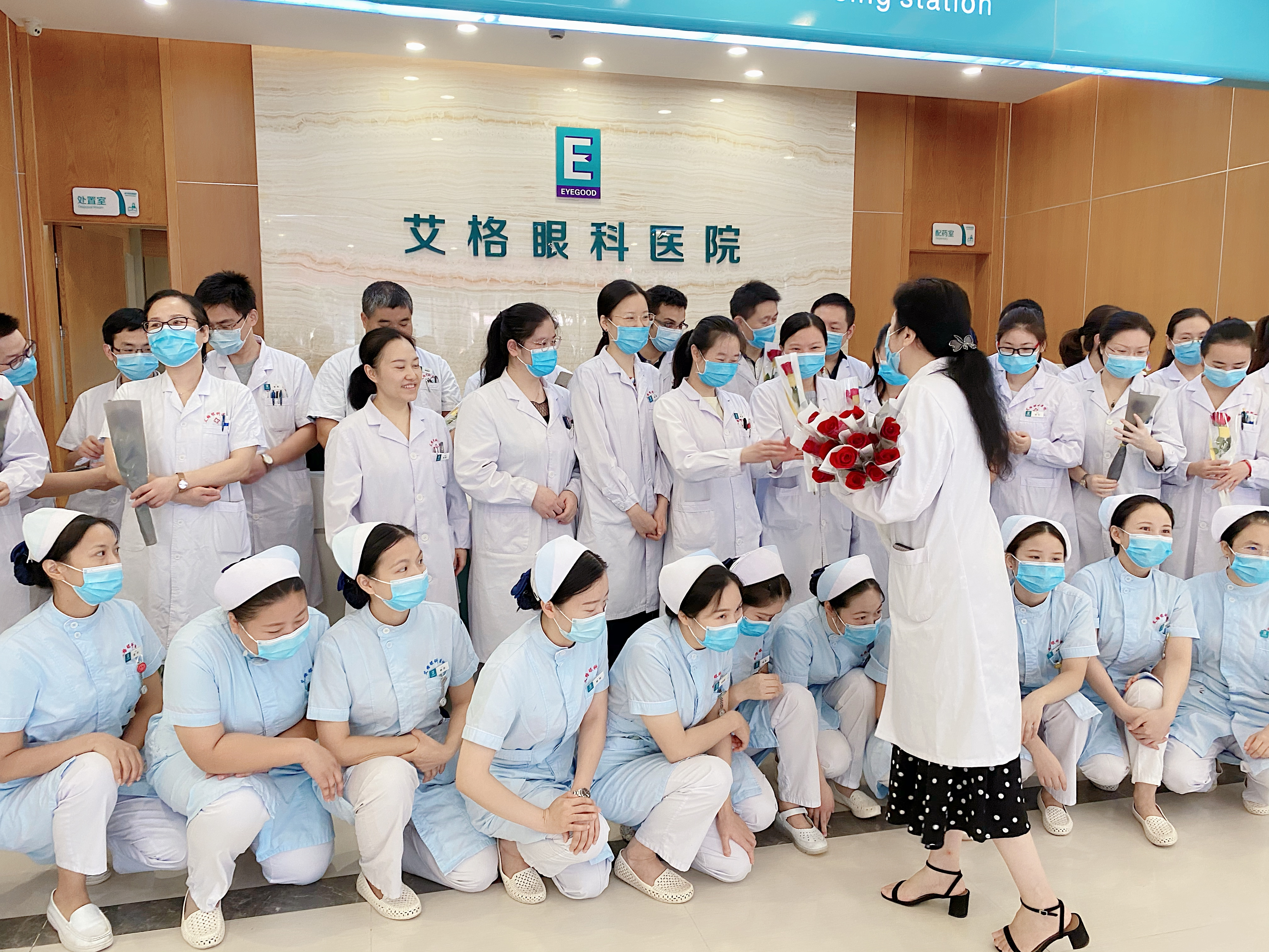 武汉艾格眼科医院医师节活动:这是一群特别的眼科医生,你见过吗?