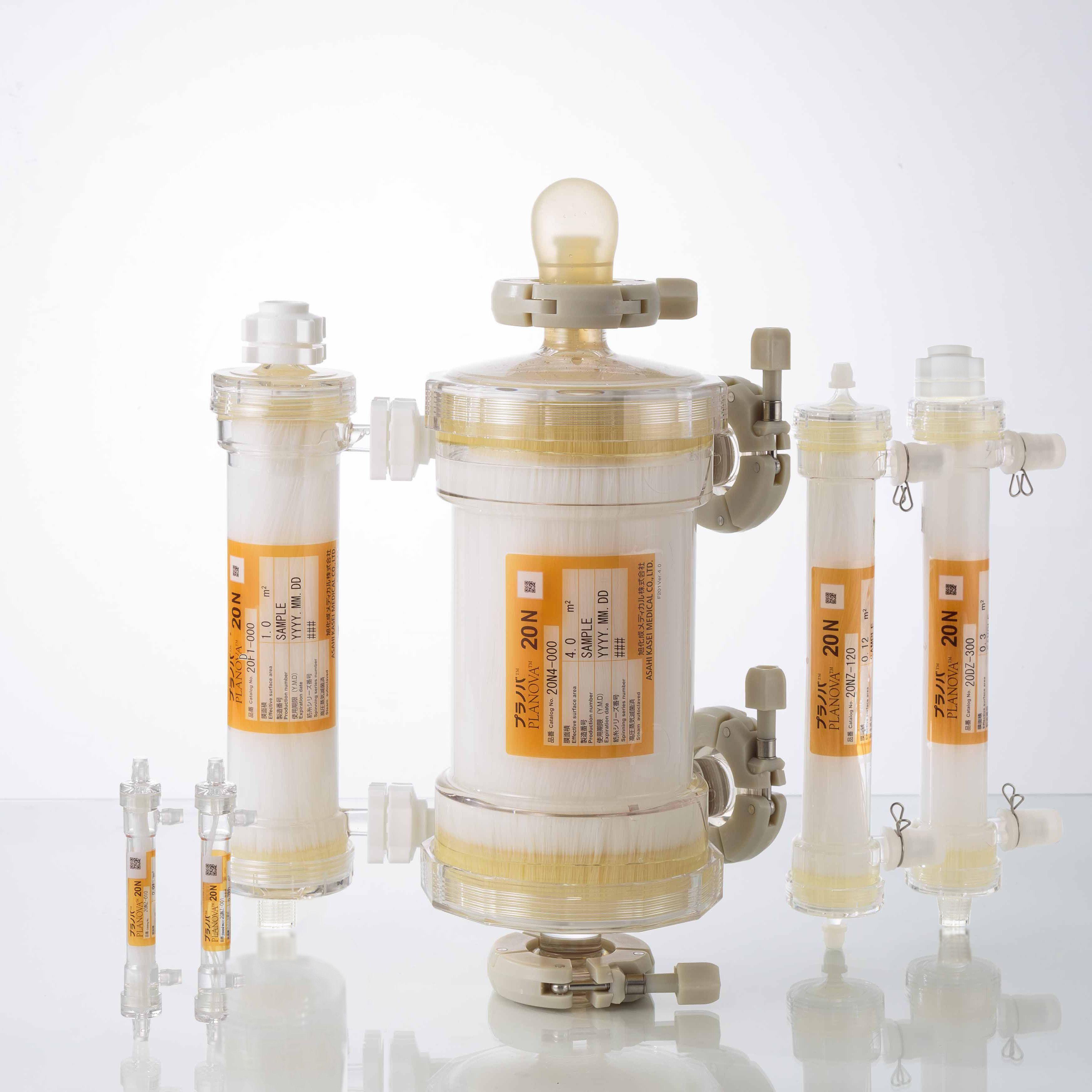 Planova™ 15N, 20N 和 35N 病毒清除过滤器