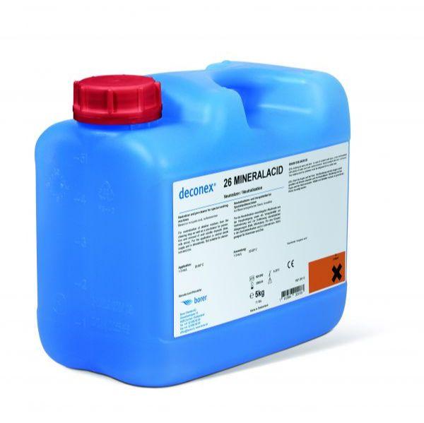 波洱deconex 26MineralacidID全自动机洗专用中和清洗剂