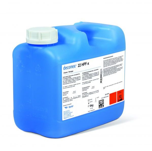 波洱deconex 22HPF-x高效碱性清洗剂