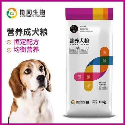 营养成犬饲料 金毛萨摩实验犬粮