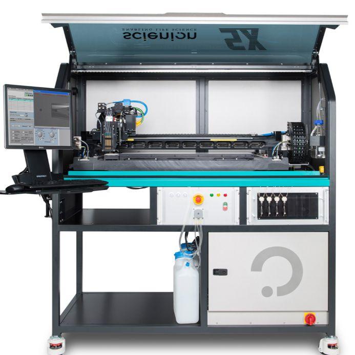德国Scienion SX 芯片 微流控 喷点 点样仪 pL-nL