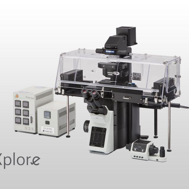 奥林巴斯倒置显微镜IXplore Live