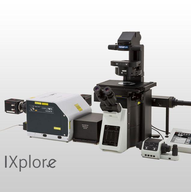奥林巴斯倒置显微镜IXplore Spin