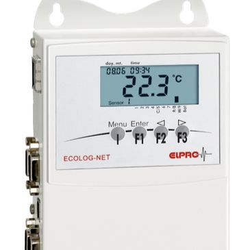 瑞士ELPRO ECOLOG-NET网络化数据记录仪