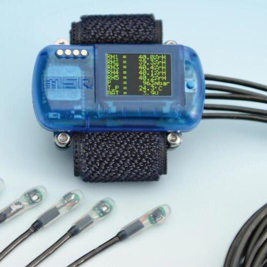 测量纺织品生理特性的微型无线数据记录器MSR147WD