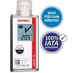 瑞士ELPRO LIBERO CB一次性PDF温度记录仪