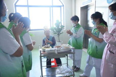 「用心服务、用爱温暖」·二康志愿者服务