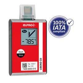 瑞士ELPRO一次性干冰温度记录仪LIBERO CD