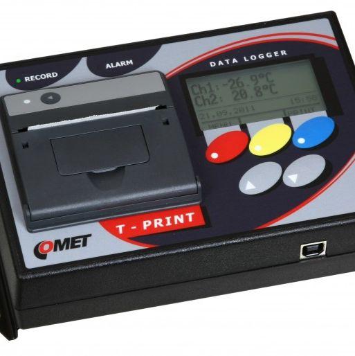 内置打印机的温度记录仪T-Print