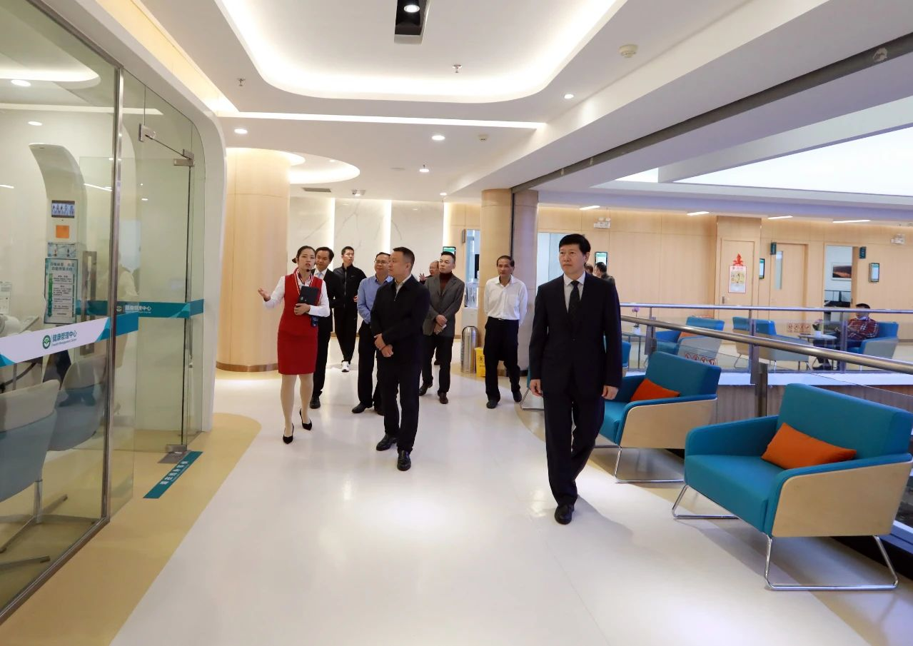 桂林医学院附属医院医疗健康旅游中心、健康管理(体检)中心开业