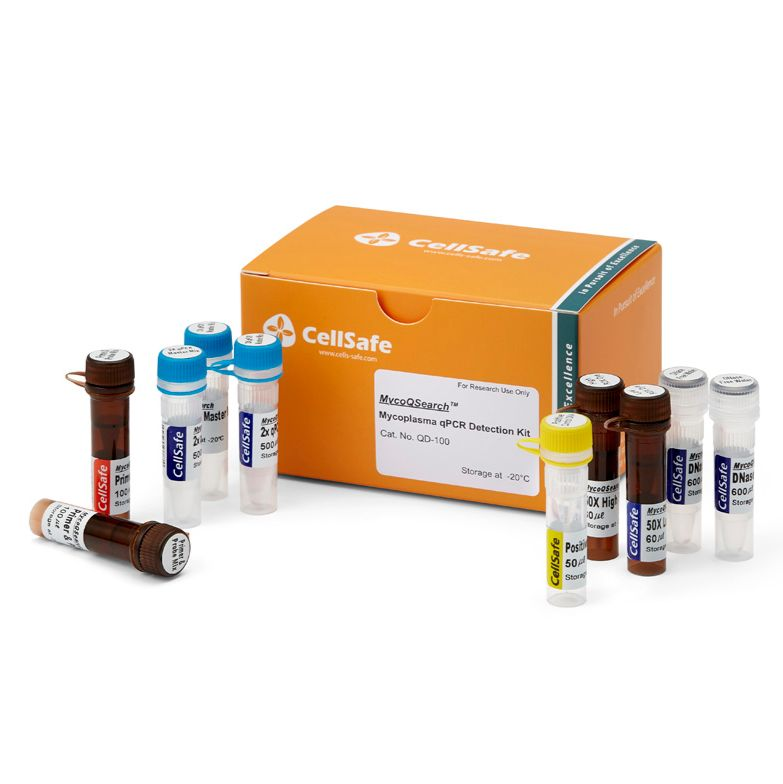 MycoQsearch Mycoplasma qPCR Detection kit支原体检测试剂盒