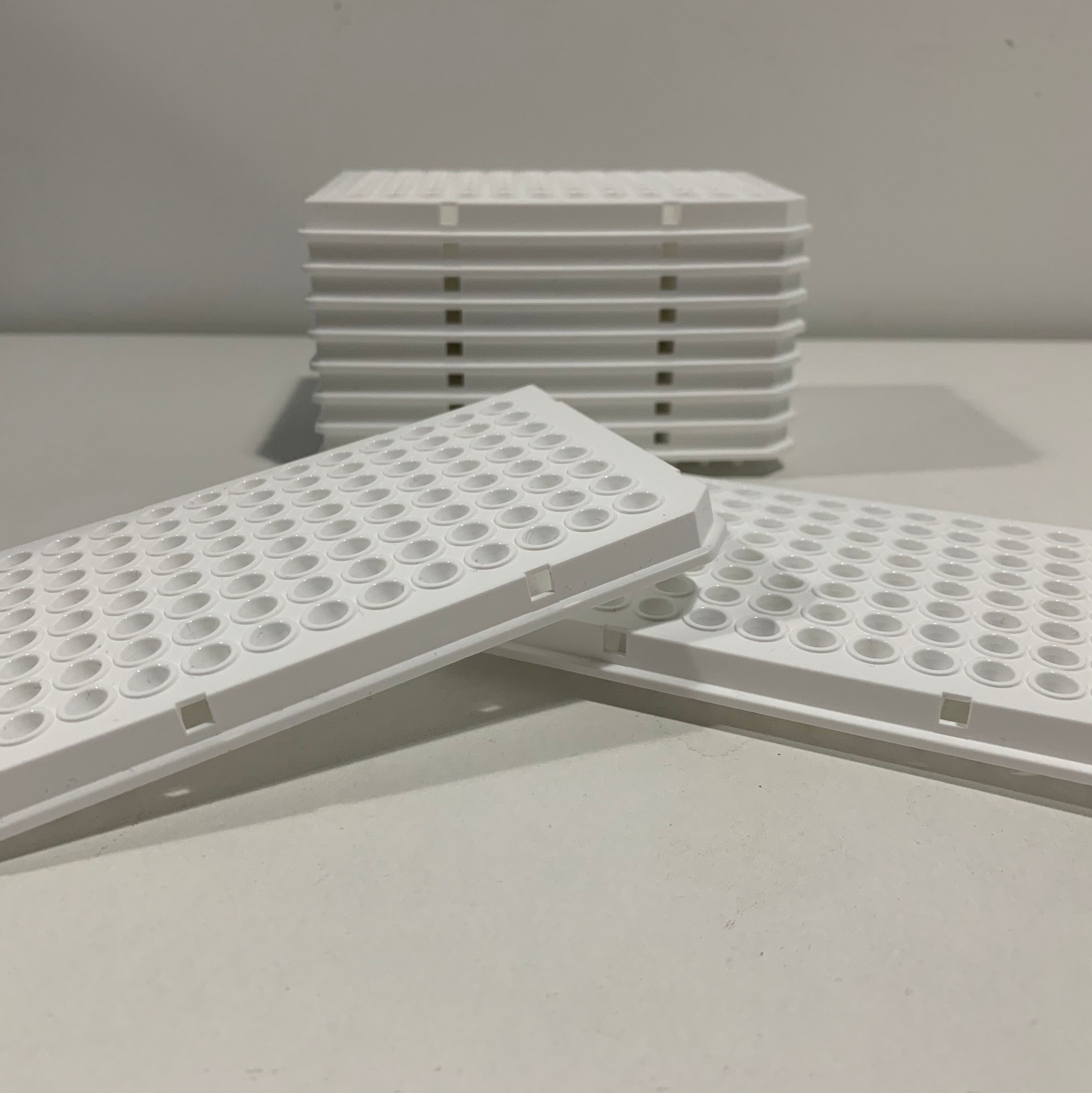 LabCope 白色96孔板完全匹配罗氏白色96孔板LC-RT-PCR-96-W 50/盒