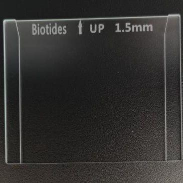 电泳玻璃板1.5mm  可替换伯乐1653312  制胶玻璃板 蛋白电泳玻璃板