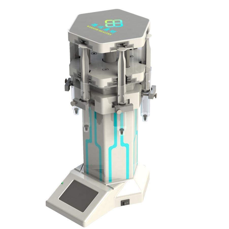六通道垂直注射泵(微流控)