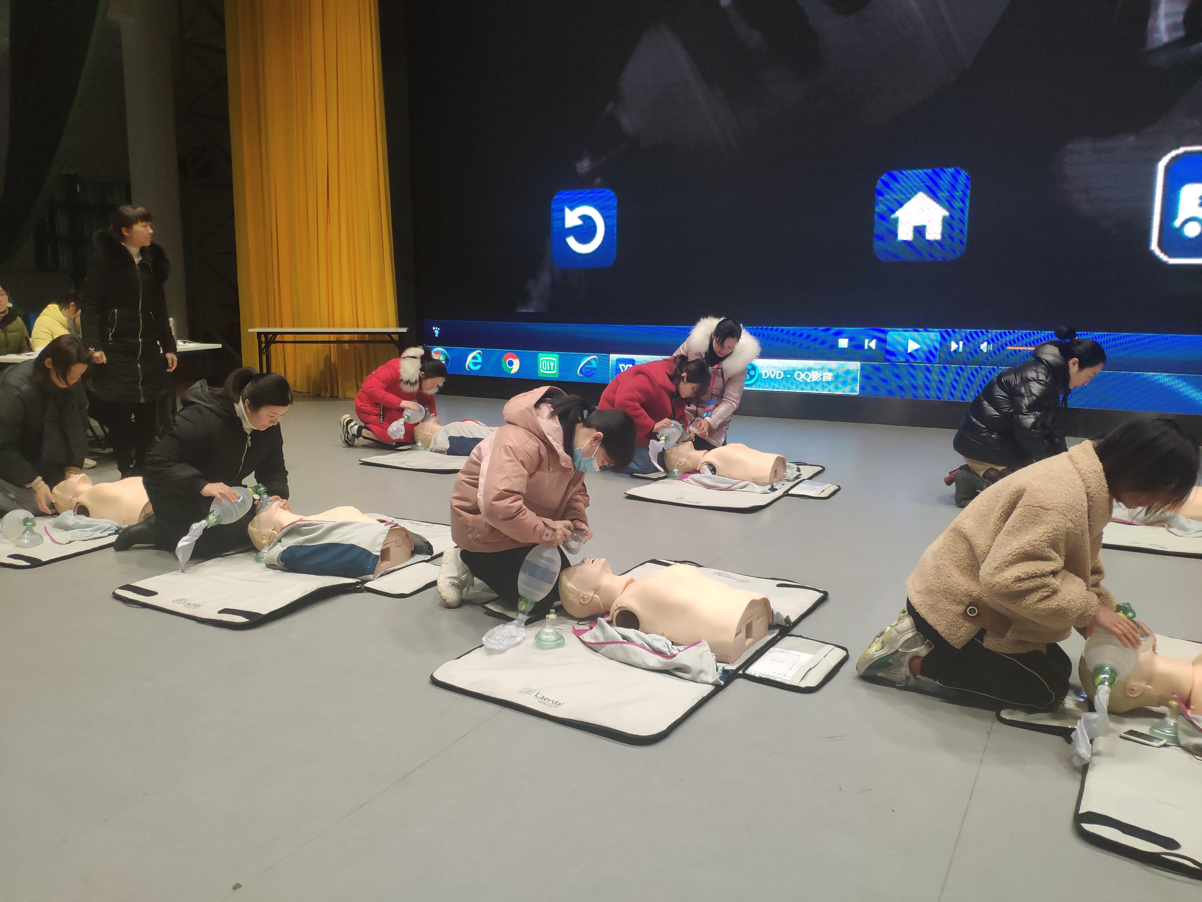 自治区南溪山医院成功举办美国心脏协会基础生命支持 BLS 国际认证培训班