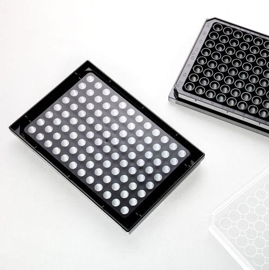 96孔黑色透明底细胞培养板